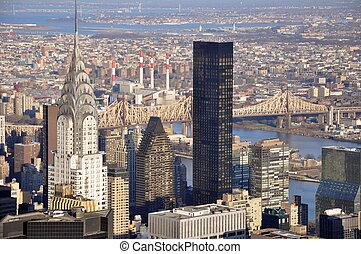 East side of Manhattan