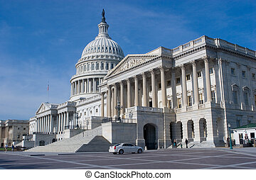 US Capitol Building - East Side of The US Capitol Building...