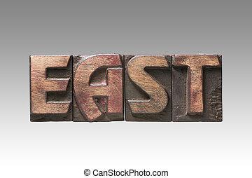 East vintage type
