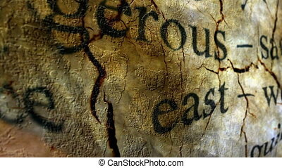 East west grunge concept