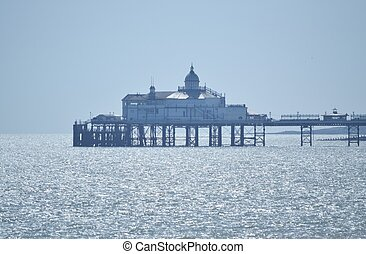 Eastbourne Pier on a Hazy Day