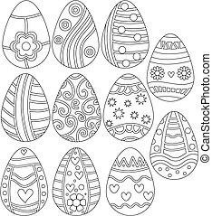 easter αβγό , συλλογή
