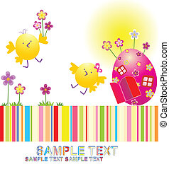 easter!, 행복하다