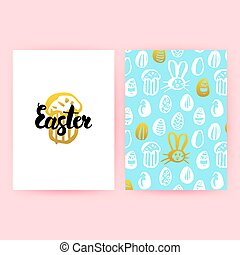 Easter 80s Style Posters