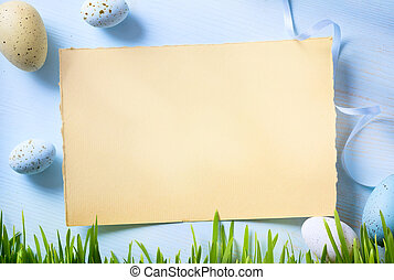 easter Background - happy Easter; easter Background with...