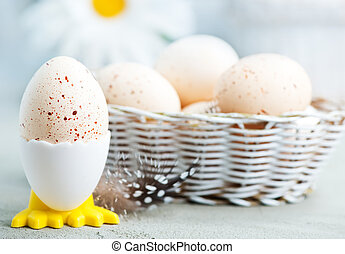 easter background - easter eggs on a tabble, easter...