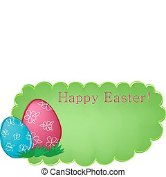 Easter banner or greetings card