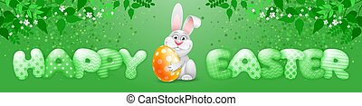 Easter Banner Template