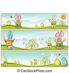 Easter Banners 2