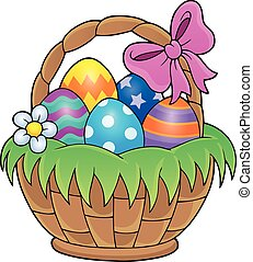 Easter basket theme image 1 - Easter basket theme image