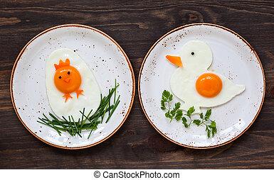 Easter breakfast for kids