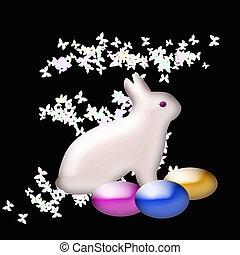 easter bunny art
