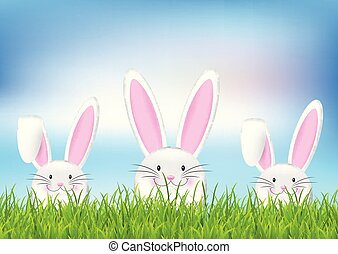 easter bunny background 0502