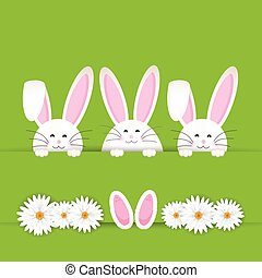 easter bunny background 2103