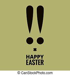 easter bunny design background