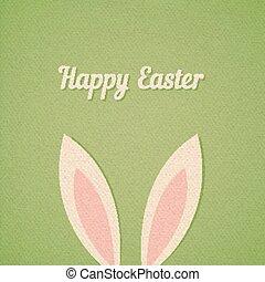 Easter bunny ears card