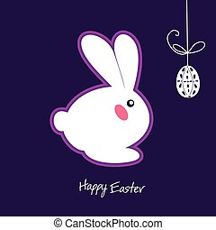 Easter Bunny Ears Vector. Have Yourself a Very Happy Easter