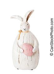 easter bunny figurine