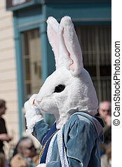 Easter Bunny on parade