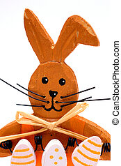 easter-bunny - Close-up Picture of an easter-bunny, upper...