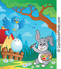 Easter bunny topic image 8