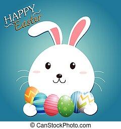 Easter Bunny Vector