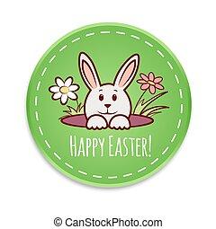 Easter Bunny Vector3