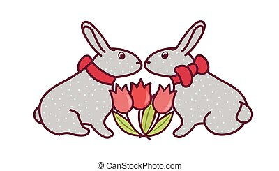 Easter Bunny Vector5