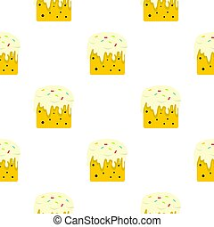 Easter cake pattern seamless