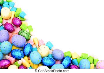 Easter Candy Corner Border