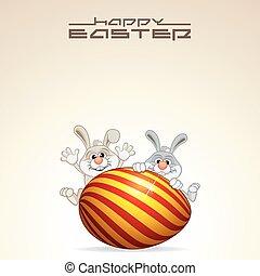 Easter Card Design. Vector