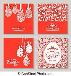 Easter card set