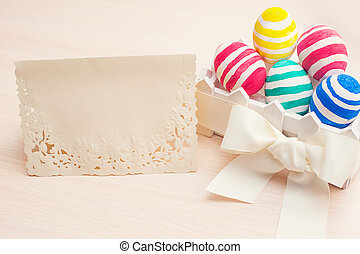 Easter card with place for your text