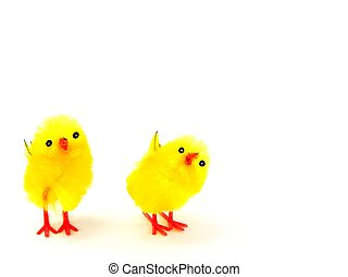 Easter chicks decorations