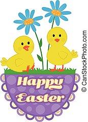 Easter Chicks Design