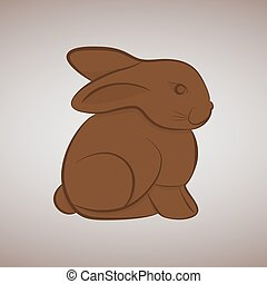 Easter chocolate rabbit