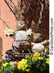 Easter decoration bunny