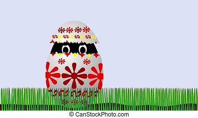 Easter - disagreeable surprise - Animated cartoon - adorable...