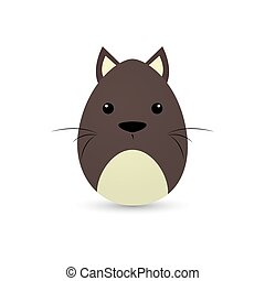 Easter Dog Egg