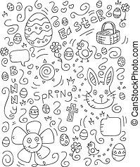 Easter Doodle