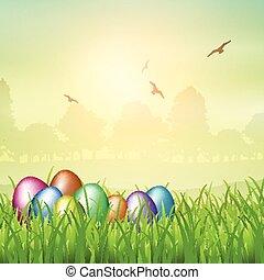 Easter egg backgroubnd