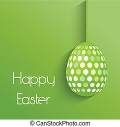 Easter egg background - Easter background with simplistic...