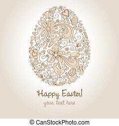 Easter Egg Brown
