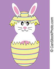 Easter Egg Bunny Rabbit