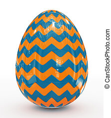 Easter egg decorated