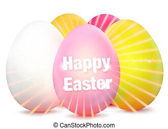 Easter Egg Design bright graphic - Easter Egg Design