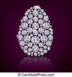 Easter egg diamond