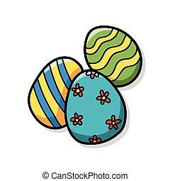 easter egg doodle