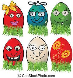 Easter egg emotions 1