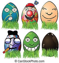 Easter egg emotions 4
